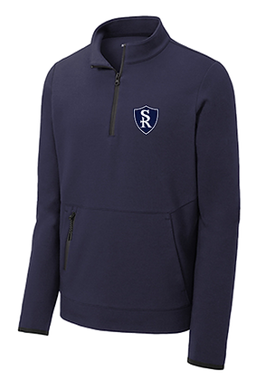St Rose 1/4 Zip Middle School Pullover Jacket