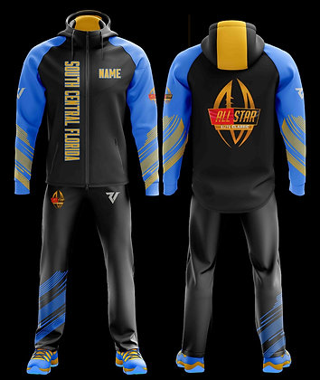 South Central Florida Warm Up Travel Suit