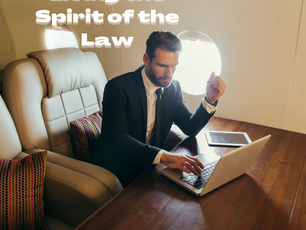 Living the Spirit of the Law