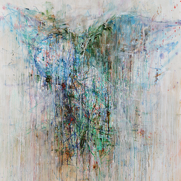 untitled100973-379001(angel) 100x80cm oil on linen 2010