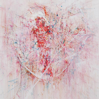 signal 2012 oil on canvas 117x91cm