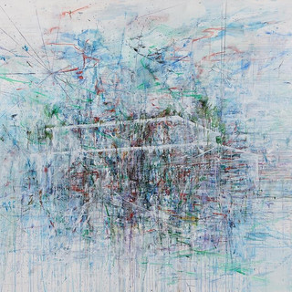 untitled100923-329001(glass house) 130x162cm oil on linen 2010