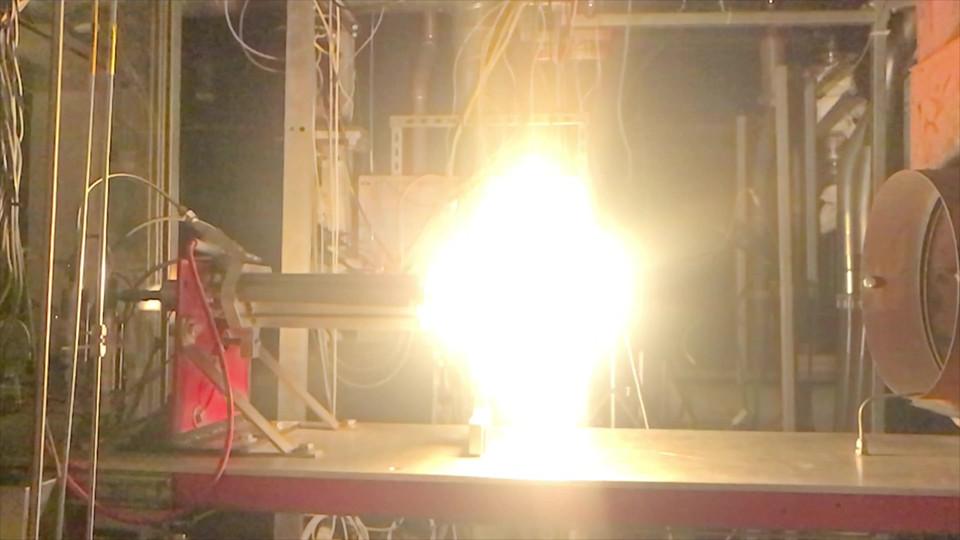 Test Fire Video