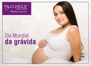 A todas as grávidas desejamos as maiores felicidades