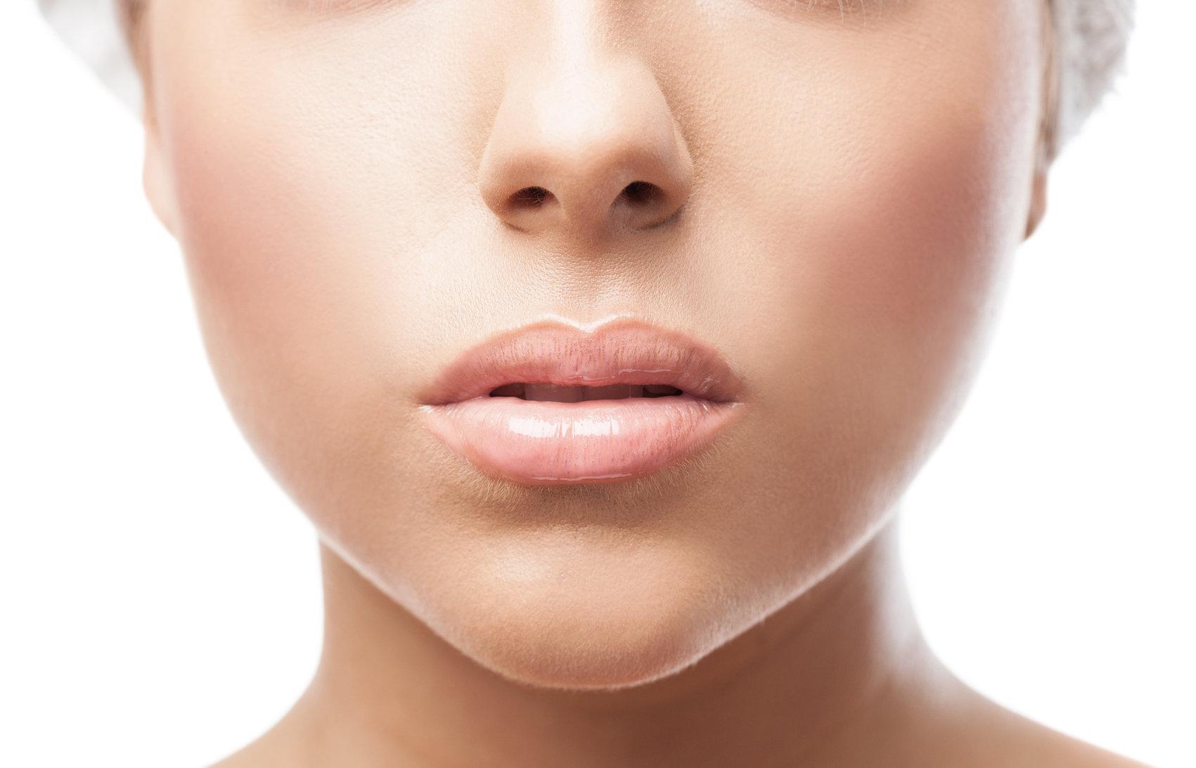 Volume e Contorno dos Lábios