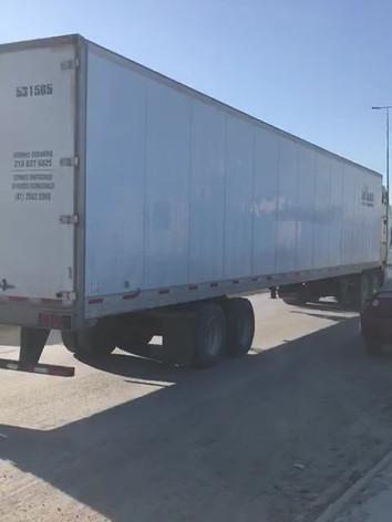 Shipment on its way to USA