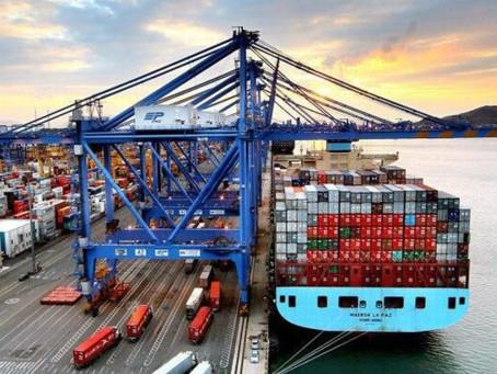 Alrededor de 30 buques por mes llegan a Manzanillo desde China