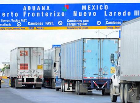 Las fronteras entre México y los EE.UU., mantienen el intercambio comercial pese al COVID-19