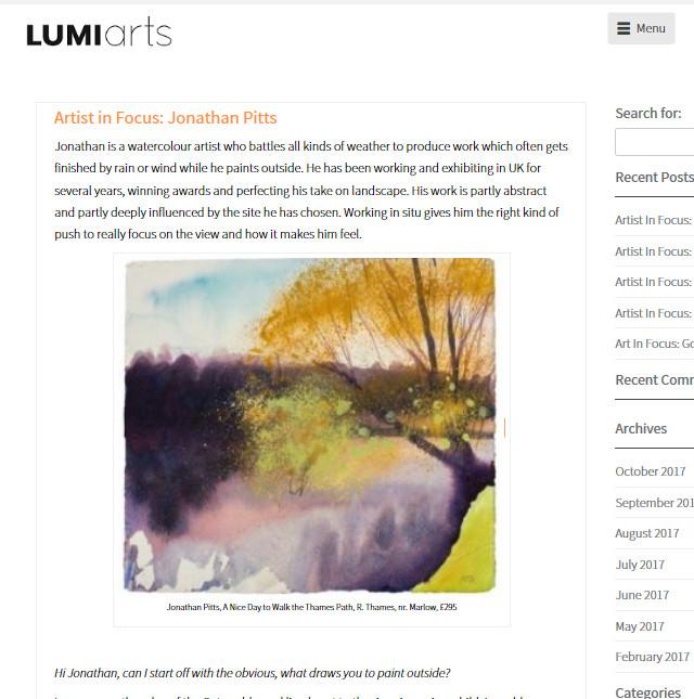 Lumi Arts Artist in Focus: Jonathan Pitts