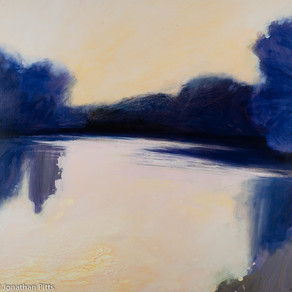 Oil Paintings from my river Thames series.