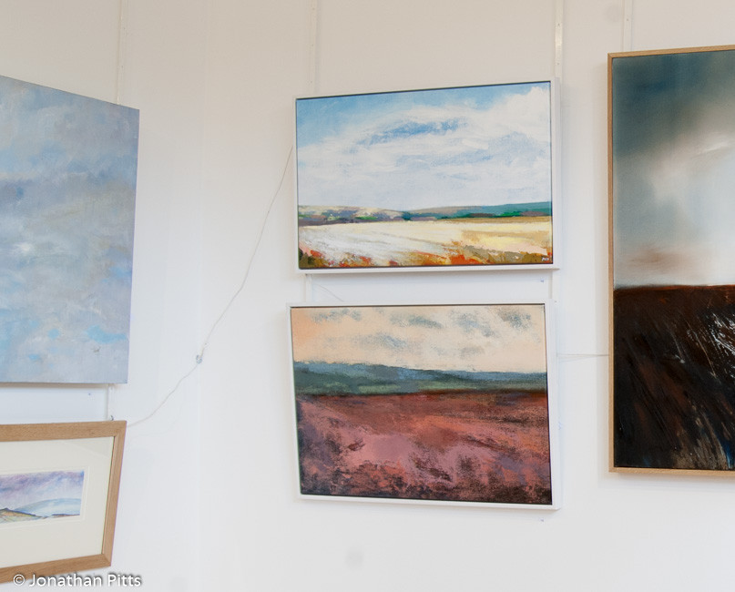 Paintings by Jonathan Pitts, on display in the Royal Birmingham Society of Artists Open Exhibitions in 2009