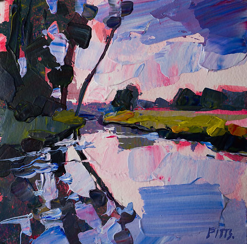 The River Nore, a commissioned piece.