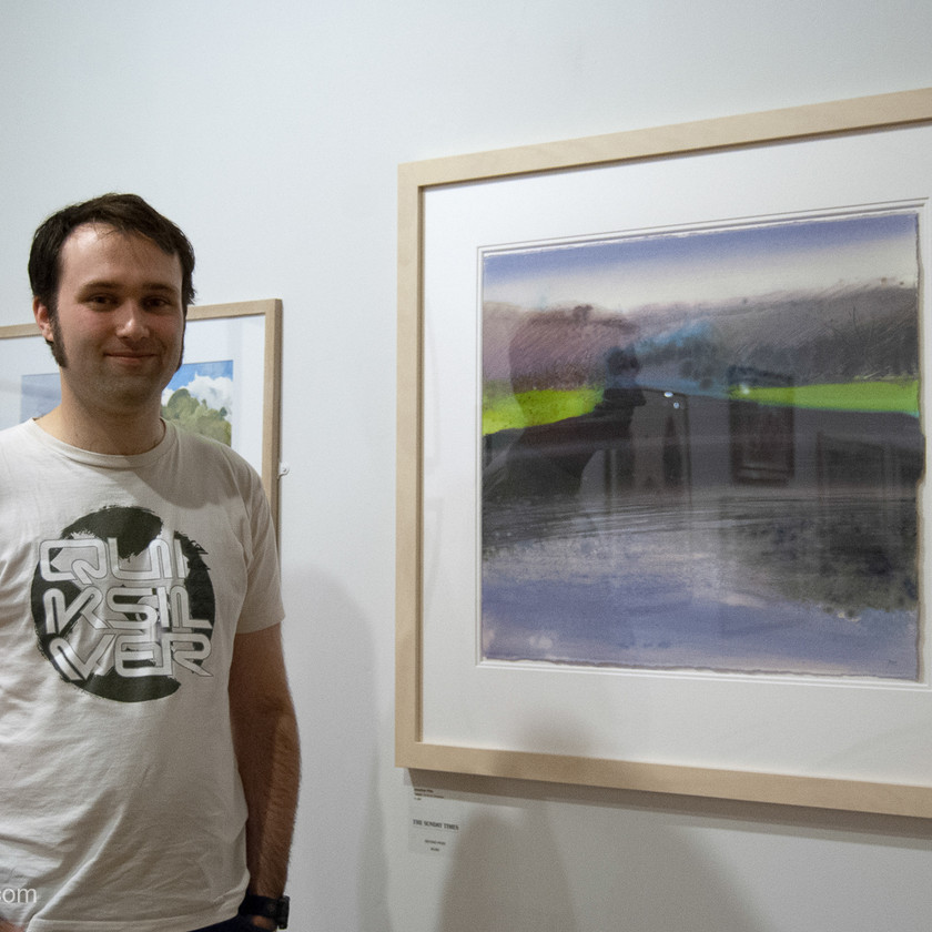 Jonathan Pitts's contemporary watercolours at the Sunday Times Watercolour Competition