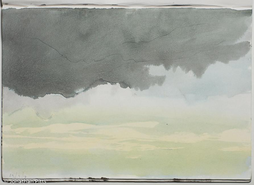 Jonathan Pitts cloud sketch