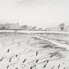 New drawings from my Cotswolds series