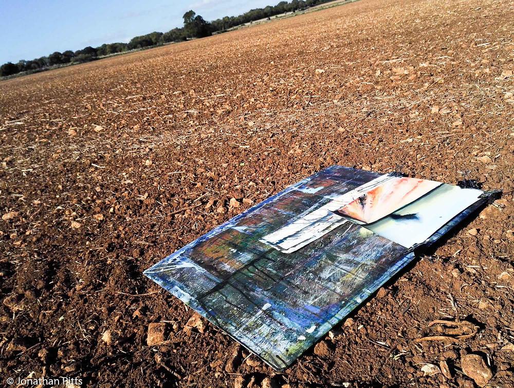 Plein air watercolour, Jonathan Pitts Sunday Times Watercolour 2nd prize winner.