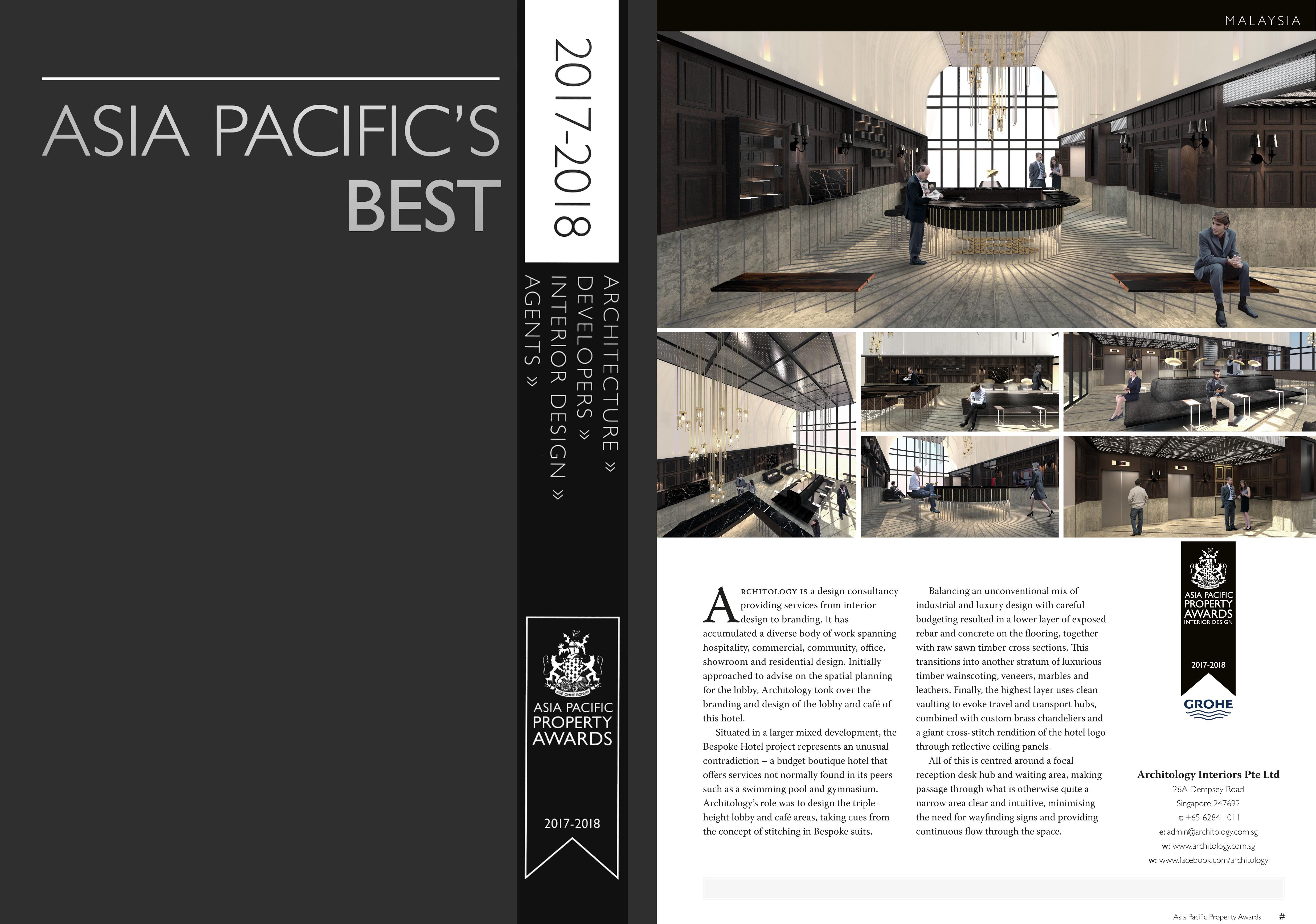 Bespoke Interior Design | Architology Interiors | Singapore