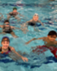 Artistic swimming courses life preservation skills