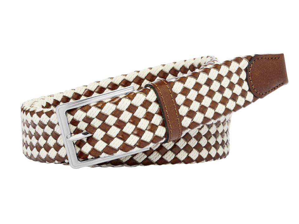 Miami Beige Plaited Belt