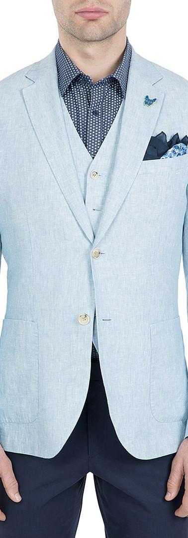 Gibson Linen Electron Jacket Blue.jpg
