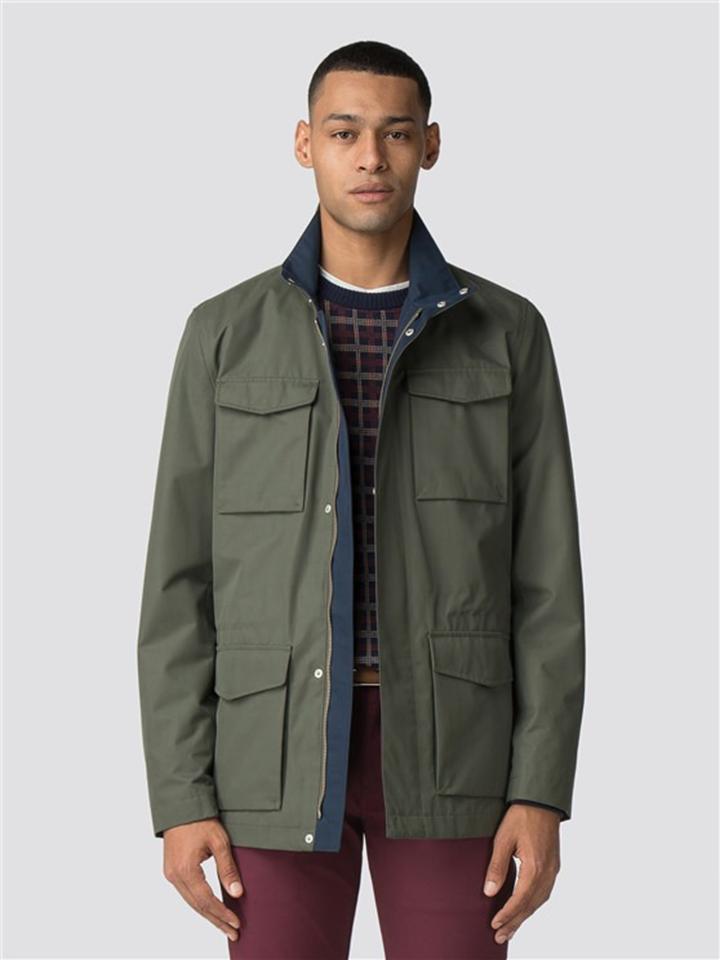 Green Four Pocket Jacket