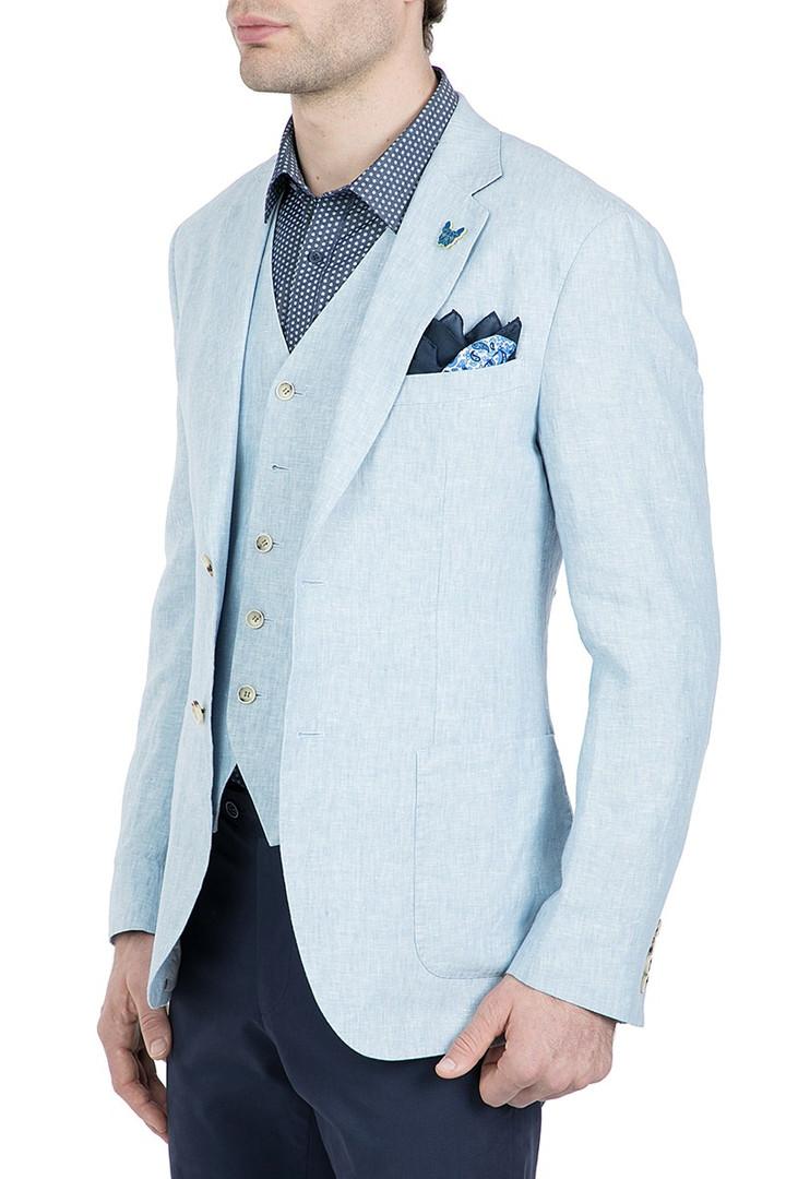 Gibson Linen Electron Jacket Blue