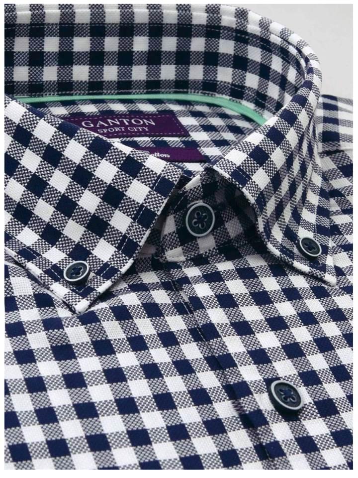 Ganton Short sleeve check (Medium)