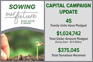 Sowing Our Future Donation Report 1-14-2