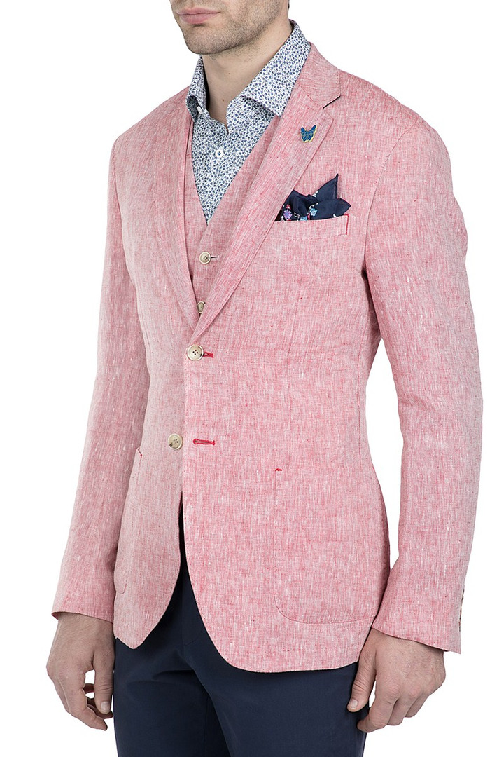 Gibson Linen Electron Jacket Red