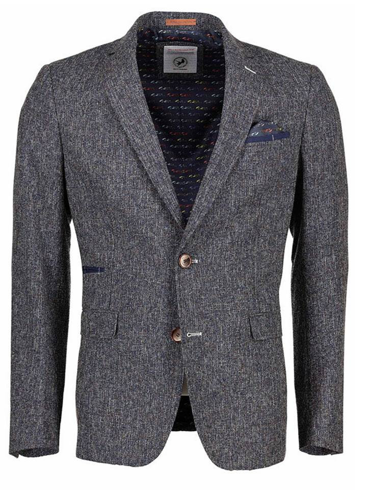 AFNF 83 103 Tweed Jacjet Blue