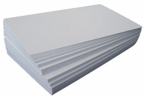 Pacote papel de arroz em branco