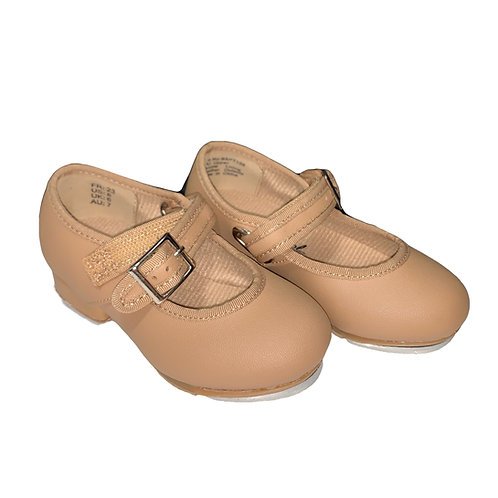 Little Tappers with velcro strap Beige