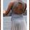 Thumbnail: Modern Grey Mesh skirt