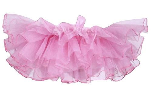 Pink elastic Skirt