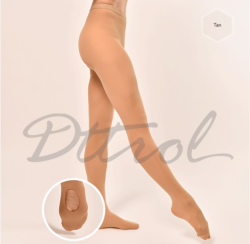 Dark Tan Convertible Tights