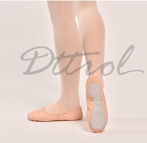 Leather Fullsole Ballet Shoes