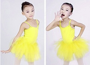Yellow Ballet Dress