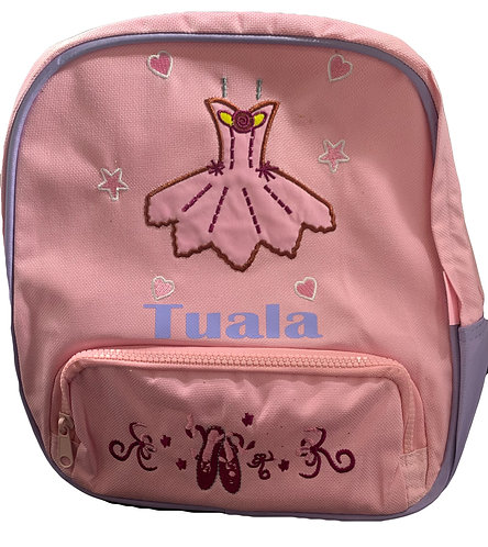 Ballet Back pack Personalised