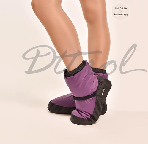 Purple Warm Up Booties
