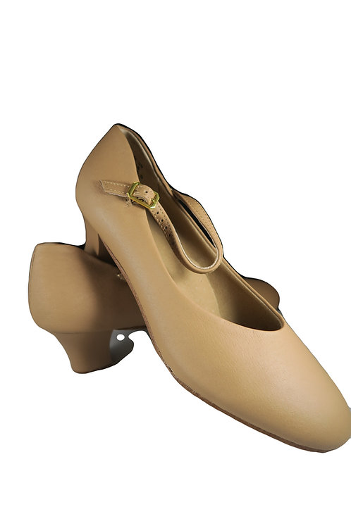 High Heel Chorus Shoes Beige