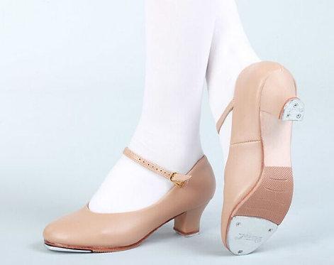 High Heel Tap Shoes Beige