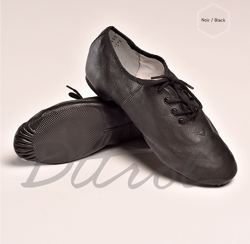 Lace Up Jazz Shoes Black
