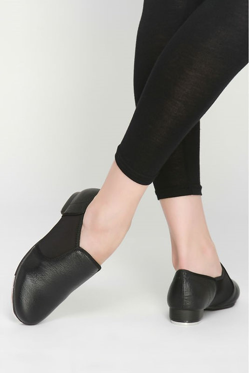 Slip on Tap Shoes leather upper