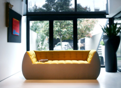 Spongy sofa