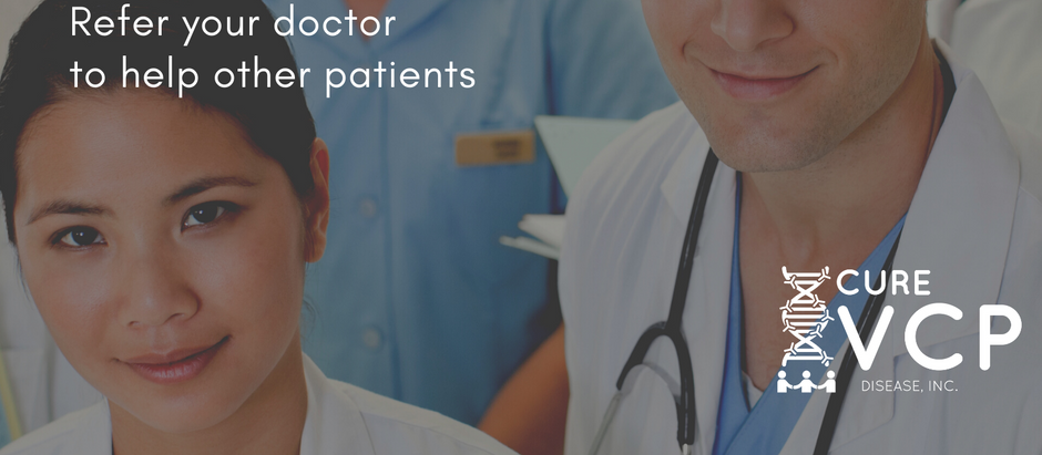 Refer your Doctor or Therapist to the VCP Medical Network