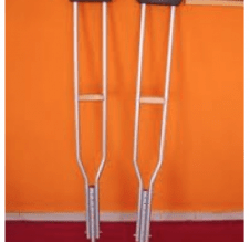 """Are You A Member Of The """"I Hate Crutches"""" Club?"""