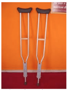 "Are You A Member Of The ""I Hate Crutches"" Club?"