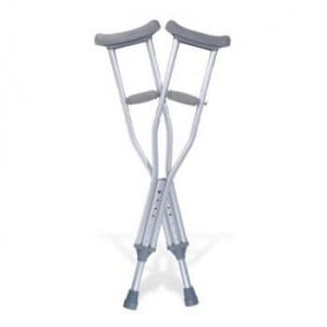 The Downside of Using Crutches