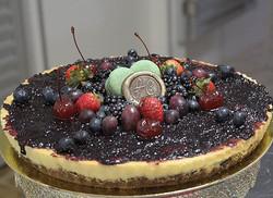 Torta tipo cheesecake