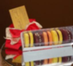 Embalagem 4 macarons